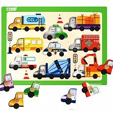 손잡이퍼즐 - 자동차