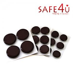 [SAFE4U]먼지가 붙지않는 불소수지 데코보드 원형(25mm/30mm/43mm)
