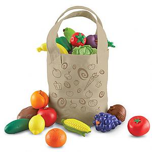 과일야채도트가방