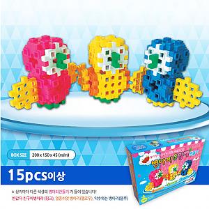 병아리3형제만들기(랜덤발송)딸기향이 솔솔~
