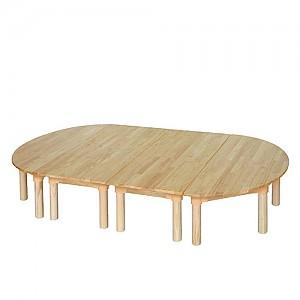 고무나무 유아책상세트
