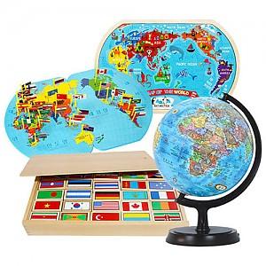 세계여러나라4종